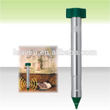 batteriebetriebene sonic zufällige mole chaser mole repeller für outdoor nagetier abstoßen