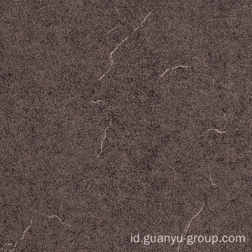 Warna gelap Matt Finish pedesaan porselen Tile