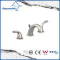 Widespread Dual Lever 3-Hole Bathroom Basin Faucet (AF8160-6C)