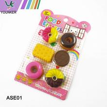 Novelty Stationery TPR Pencil Erasers Set