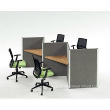 Simply Office Furniture Estación de trabajo de centro de llamadas para 3 personas (HF-HT301)