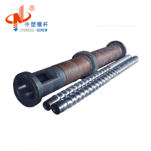 ISO9001:2008 Certification And PET PP PVC Plastic Processed parallel twin screw and barrel