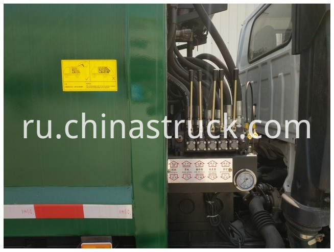 Isuzu Compression Refuse Collector