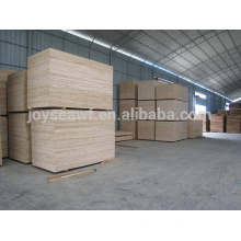 1220*2400mm falcata/pine blockboard with best price / blockboard manufacter