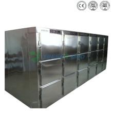 Medizinische 6 Türen Leichenhalle Kühlschrank