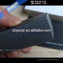 Hot Stamping letterpress papier couleur luxe cartes de visite imprimantes