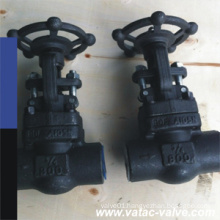 Forged Welded Bonnet Welded Flange Gate Valve