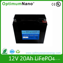 Rechargeable LiFePO4 Battery 12V 20ah for Solar Street Lights/ /LED Light/ Electric Scooter/Medical Tools