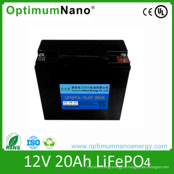 LiFePO4 12V 20ah Laptop / UPS Batterie