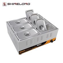 Shinelong Fabrication 2017 Prix de gros 1 3 6 Pans Électrique Food Warmer Buffet Bain Marie