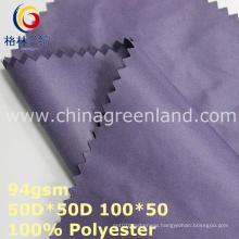 Plain Polyester Memory Fabric for Shirt Lining (GLLML348)