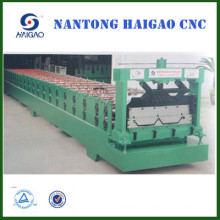 corrugated roof sheet roll forming machine/ hot rolled ribbed steel making machine
