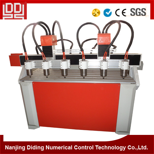 Multi-head Cnc Carving Advertising Machine