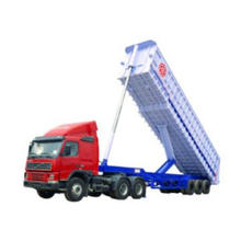 400 ft. flat-bed container semi-trailer