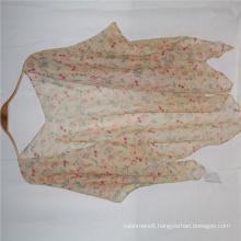 2020 summer new red small flower print shawl pattern fabric special design women summer sunscreen