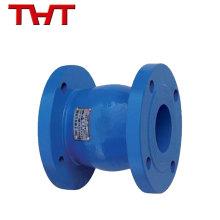 Marca THT nuevo tipo de presión silenciosa de la válvula de retención del émbolo del arrabio