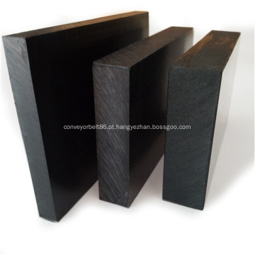 Folha de plástico acetal preto branco ESD POM