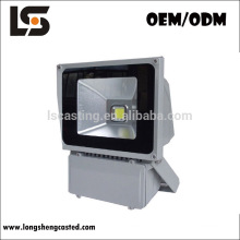 Wholesale tempered glass cover material RGB available 50w led flood light covers