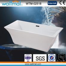 Luxry Arc-Shaped Edge forme spéciale baignoire autoportante de forme