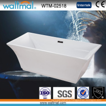 Luxry Arc-Shaped Edge Special Shape Freestanding Bath Tub
