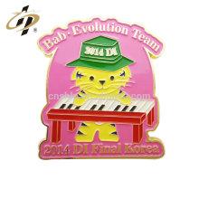 Logo personnalisé uniforme d'école de musique badges insigne de broche en métal de sécurité pour les enfants