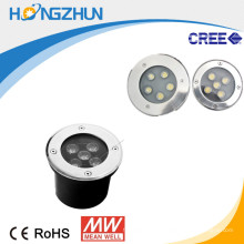 5w levou iluminação subterrânea rgb projetando iluminação