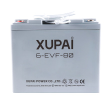6-EVF-80 12V 80AH sealed power battery for electrical cargo car or cargo van