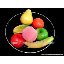 Best selling metal chrome plated fruit basket holder