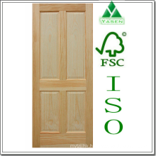 Raised Panel Nature Wooden Door