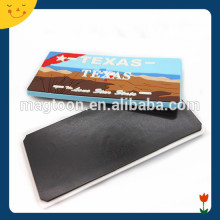 Rectangle design 3d magnet for fridge wholesale