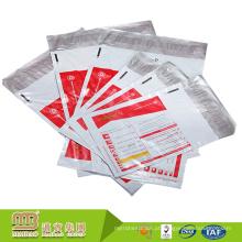 Preço de atacado de fábrica forte à prova de adulteração ldpe auto adesivo saco de correio de plástico poli