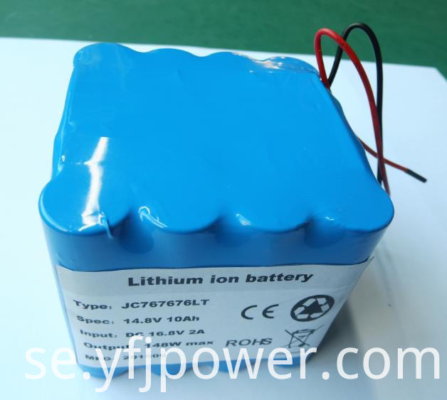 14.8V lithium battery pack