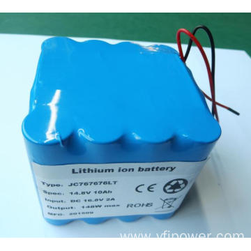 low temperature li-ion 18650 battery pack 14.8v 10ah