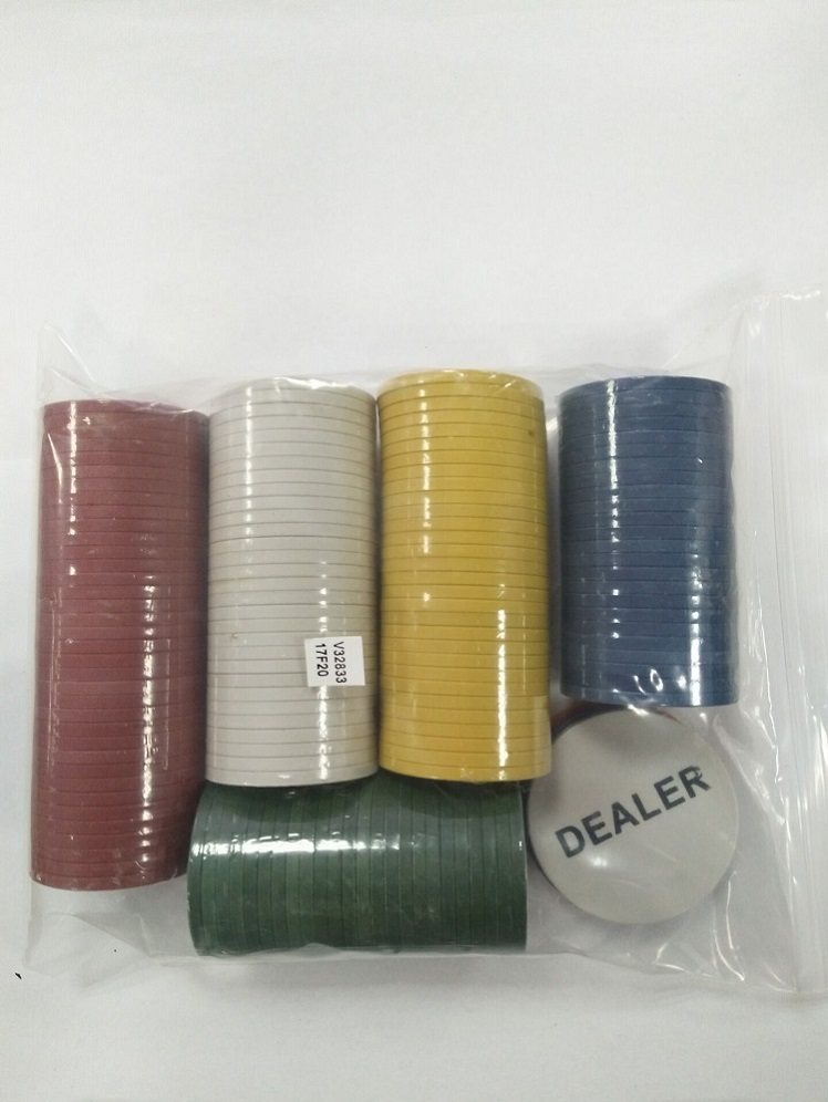 Plastic Casino Poker Chips