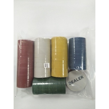 100pcs Professional Casino Grade Poker Chips Set