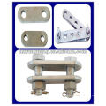 P type clevis tongue overhead line hardware fitting electric power pole fitting