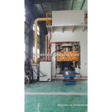 Tipo de bastidor prensa hidráulica de doble acción para chapa metálica