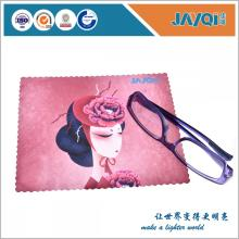 100% Polyester Sunglass Wipe Cloth with Logo