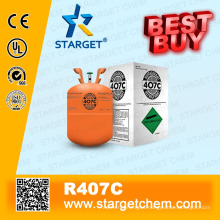 High purity Refrigerant R407c best buy in neutral package 11.3kg bottle