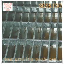 Grade de barra de aço com plugue galvanizado para construção