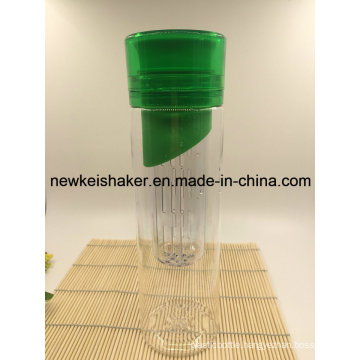 New Arrived 100%BPA Free Tritan Water Bottle with Fruit Infuser