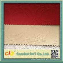 Popular chinês PU Rexine tecido para sofá