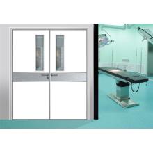 Projeto da porta da sala do internamento da emergência do hospital