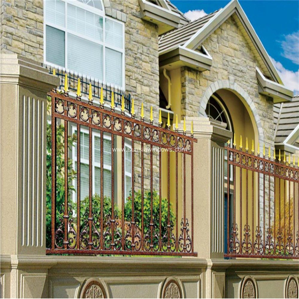 Aluminum Security Fence for Garden