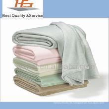 Großhandelsfleecedecke des Polyester-100% Polyester