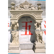 Stone Marble Granite Door Arch for Door Surround Doorway (DR035)