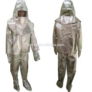 Fire proof suit Aluminum fireproof work clothes