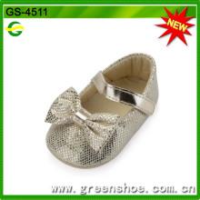 De Buena Calidad Zapatos de bebé suaves vendedores calientes (GS-4511)