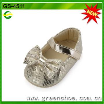 Boa qualidade venda quente sapatos de bebê macia (GS-4511)