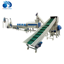 200-380kg/h plastic bottle chips pet recycling flakes to granules machine